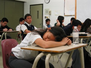 Sleep for Overcommitted High School Students | the_snooze ... Sleeping Student In Class